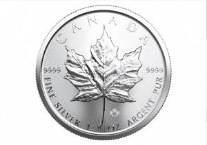 Für eine erfolgreiche Weiterempfehlung. 1 Unze Silber Meaple Leaf
